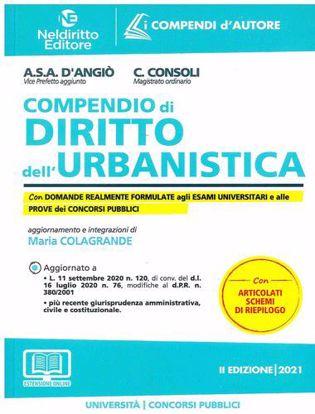 Immagine di Compendio di Diritto dell'Urbanistica 2021