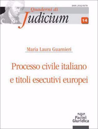 Immagine di Processo civile italiano e titoli esecutivi