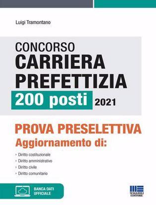 Immagine di Concorso carriera prefettizia 200 posti 2021. Prova preselettiva. Con espansione online