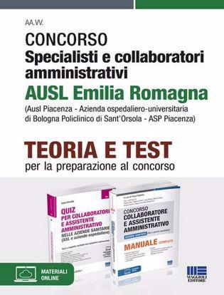 Immagine di Concorso specialisti e collaboratori amministrativi AUSL Emilia Romagna. Kit completo. Con espansione online