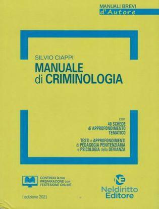 Immagine di Manuale breve di criminologia 2021