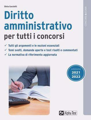 Immagine di Diritto amministrativo per tutti i concorsi