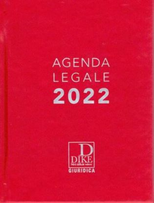 Immagine di Agenda legale 2022 (Rossa)