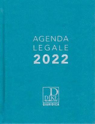 Immagine di Agenda legale 2022 (Azzurra)