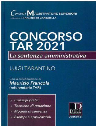 Immagine di Concorso TAR 2021. La sentenza amministrativa