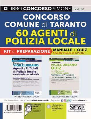 Immagine di Concorso Comune di Taranto 60 Agenti di Polizia Locale. Kit di preparazione