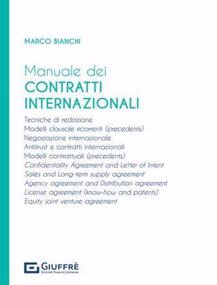 Immagine di Manuale dei contratti internazionali