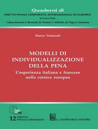 Immagine di Modelli di individualizzazione della pena. L'esperienza italiana e francese nella cornice europea