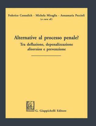 Immagine di Alternative al processo penale? Tra deflazione, depenalizzazione, diversion e prevenzione