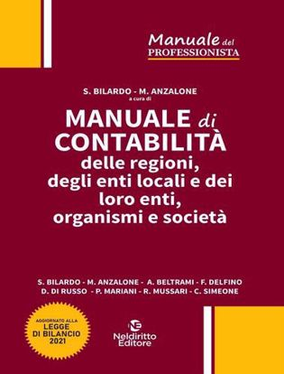 Immagine di Manuale di contabilità delle regioni, degli enti locali e dei loro enti, organismi e società 2021