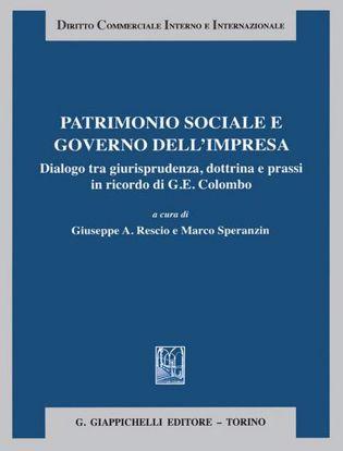 Immagine di Patrimonio sociale e governo dell'impresa. Dialogo tra giurisprudenza dottrina e prassi in ricordo di G. E. Colombo