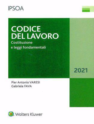 Immagine di Codice del lavoro. Costituzione e leggi fondamentali