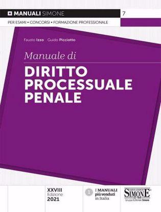 Immagine di Manuale di diritto processuale penale