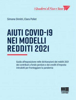 Immagine di Aiuti Covid-19 nei Modelli Redditi 2021