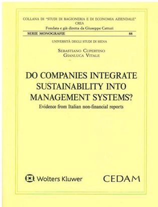 Immagine di Do companies integrate sustainability into management systems? Evidence from italian non-financial reports