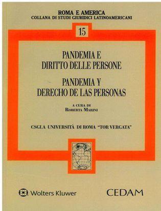 Immagine di Pandemia e diritto delle persone-Pandemia y derecho de las personas. Ediz. bilingue