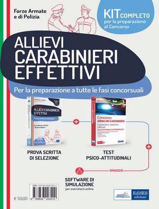 Immagine di Kit concorso allievi carabinieri effettivi. Con software di simulazione Tomo 2