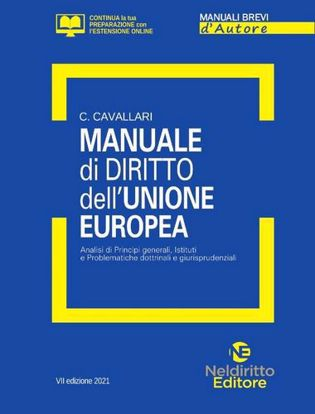 Immagine di Manuale Breve di Diritto dell'Unione Europea 2021