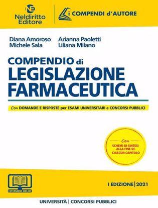 Immagine di Compendio di legislazione farmaceutica 2021