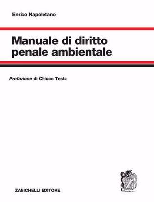 Immagine di Manuale di diritto penale ambientale