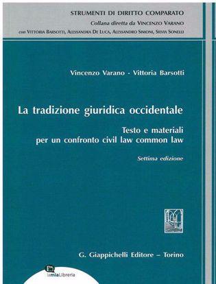 Immagine di La tradizione giuridica occidentale. Testo e materiali per un confronto civil law common law
