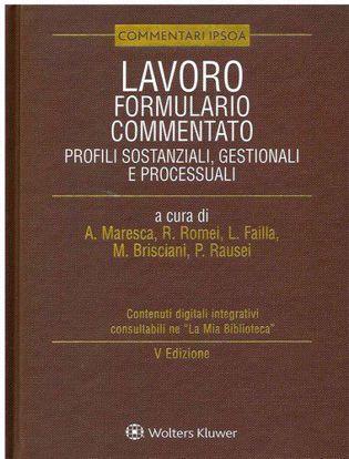 Immagine di Lavoro - Formulario commentato Profili sostanziali, gestionali e processuali