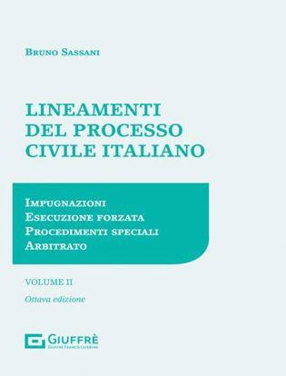 Immagine di Lineamenti del Processo Civile Italiano II