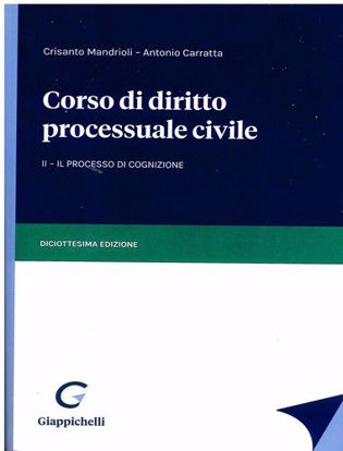 Immagine di Corso di diritto processuale civile - II Il processo di cognizione