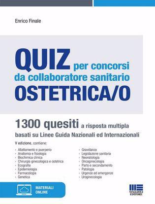 Immagine di Quiz per concorsi da collaboratore sanitario ostetrica/o