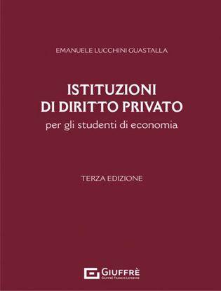 Immagine di Istituzioni di diritto privato per gli studenti di economia