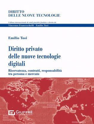 Immagine di Diritto privato delle nuove tecnologie digitali