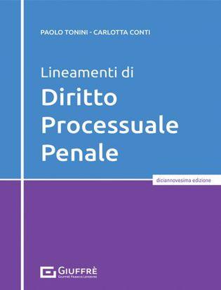 Immagine di Lineamenti di diritto processuale penale
