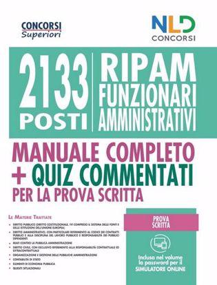 Immagine di Concorso 2133 FUNZIONARI AMMINISTRATIVI RIPAM MANUALE PER LA PROVA SCRITTA
