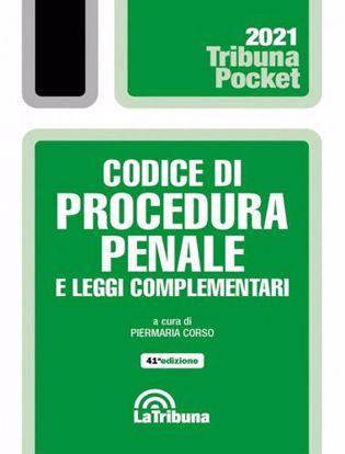 Immagine di Codice di procedura penale e leggi complementari Pocket. Settembre 2021