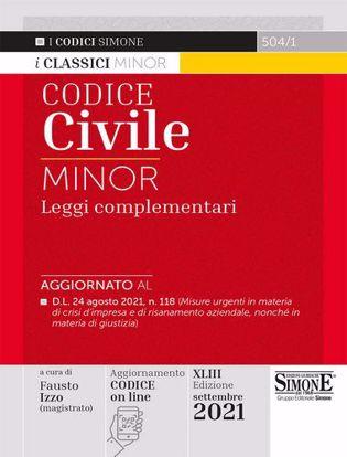 Immagine di Codice civile e leggi complementari. Ediz. minor