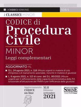 Immagine di Codice civile e di procedura civile. Leggi complementari. Ediz. minor