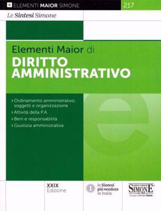 Immagine di Diritto amministrativo - Elementi Maior