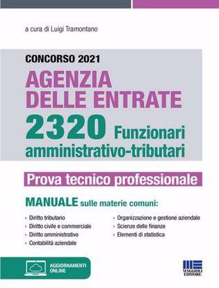 Immagine di Concorso Agenzia delle entrate. 1243 funzionari amministrativo-tributari. Manuale