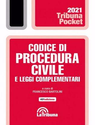 Immagine di Codice di procedura civile e leggi complementari Pocket Settembre 2021