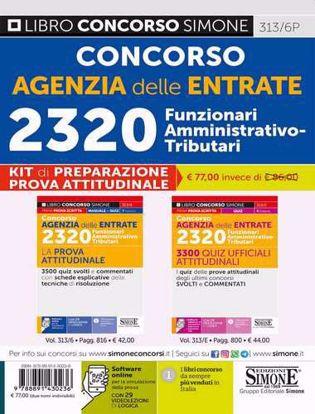 Immagine di Concorso Agenzia delle Entrate 2320 Funzionari Amministrativo-Tributari – KIT di preparazione prova attitudinale