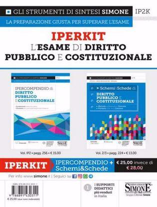 Immagine di Iperkit esame di diritto pubblico e costituzionale