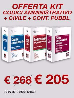 Immagine di Kit: Codice amministrativo-Civile-Contabilità pubblica