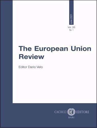 Immagine di The European Union Review - Vol. 26 - N. 1