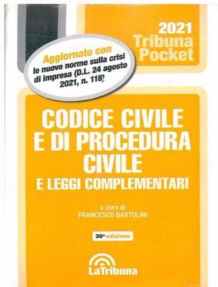 Immagine di Codice civile e di procedura civile e leggi complementari Pocket - Settembre 2021
