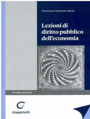 Immagine di Lezioni di diritto pubblico dell'economia