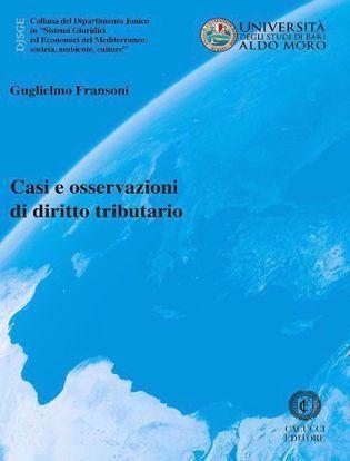 Immagine di Casi e osservazioni di diritto tributario Vol. 53