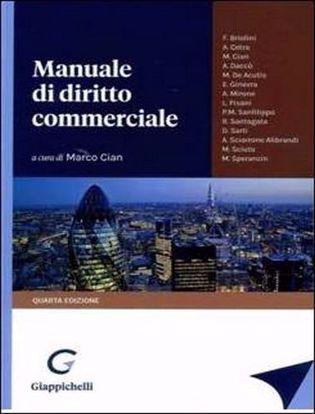 Immagine di Manuale di diritto commerciale