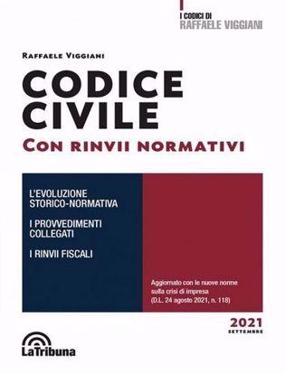 Immagine di Codice civile con richiami e rinvii sistematici 2021