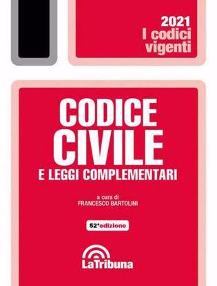 Immagine di Codice civile e leggi complementari Settembre 2021