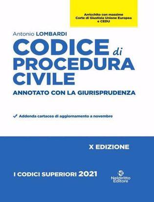 Immagine di Codice di procedura civile e leggi speciali. Annotato con la giurisprudenza 2021. Nuova ediz.